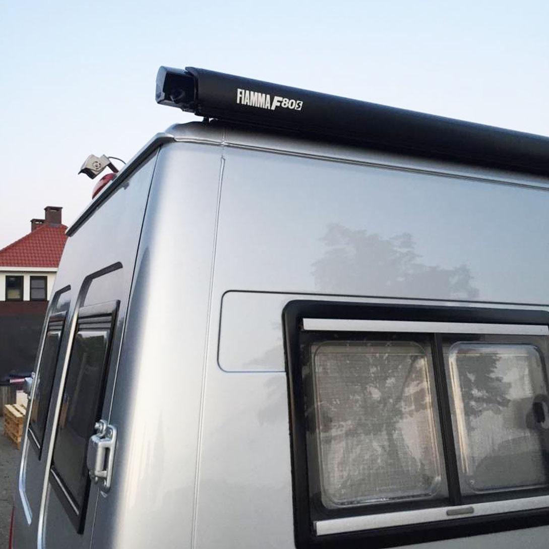 Upgrade camper grijs zwart